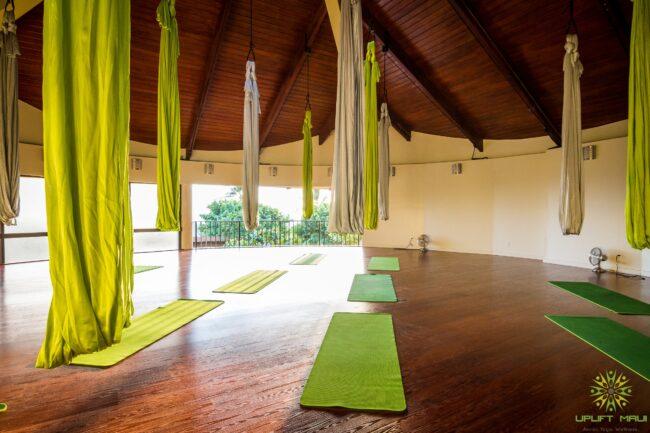 aerial yoga studio hotel wailea 1