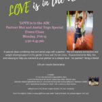 """Love is in the Air""~ Special partner class Feb 13th"