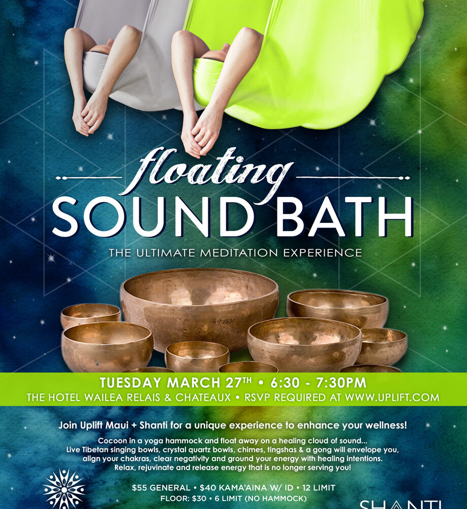 Floating Sound Bath- 3/27/2018