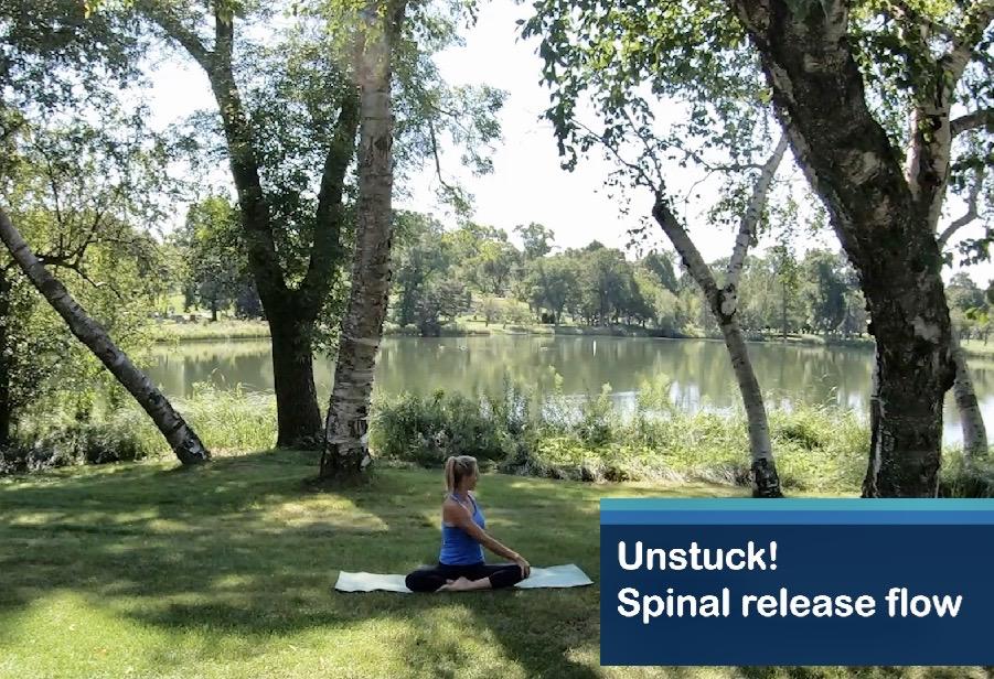 Unstuck:  gentle spinal release